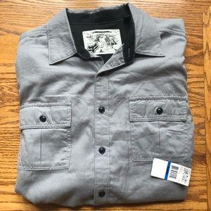 NWT Fox Button up Shirt